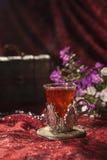 Turkse koffiereeks Stock Foto