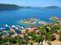 Turkse kust Stock Fotografie