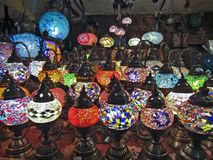 Turkse Lampen Royalty-vrije Stock Afbeeldingen