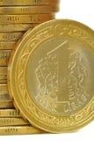Turkse Lire Royalty-vrije Stock Foto
