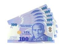 Turkse Lire Stock Foto's