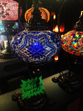 Turkse Met de hand gemaakte Mozaïeklampen Royalty-vrije Stock Afbeeldingen