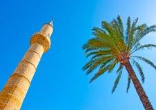 Turkse moskee in Nicosia Stock Foto
