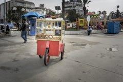 Turkse Ongezuurd broodjeauto Stock Fotografie