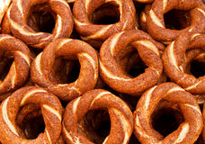 Turkse ongezuurde broodjes Royalty-vrije Stock Fotografie