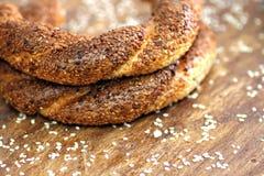 Turkse Ongezuurde broodjes Royalty-vrije Stock Foto's