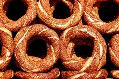 Turkse Ongezuurde broodjes Stock Foto
