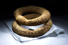 Turkse ongezuurde broodjes van Turkije Stock Afbeelding