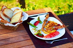 Turkse Shish kebab Stock Afbeelding