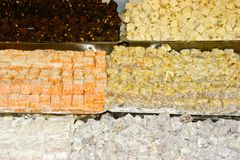 Turkse Snoepjes Stock Afbeeldingen
