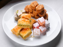Turkse sweetnesses Royalty-vrije Stock Foto's