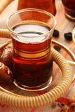 Turkse thee. Stock Foto's