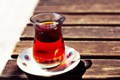 Turkse thee Stock Afbeeldingen