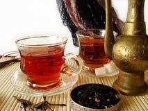 Turkse thee Royalty-vrije Stock Afbeeldingen