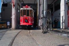 Turkse tram Stock Afbeeldingen