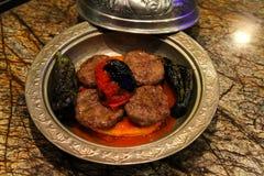 Turkse vleesballetjes Stock Afbeeldingen