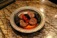 Turkse vleesballetjes Royalty-vrije Stock Foto