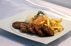 Turkse vleesballetjes Stock Foto