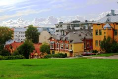 Turku �Finland city in summer Stock Image
