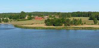 Turku archipelag Obrazy Royalty Free