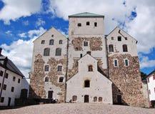 Turku castle stock photo