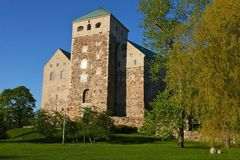 Turku castle Royalty Free Stock Image