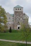 Turku Castle, Finland. Medieval stone castle in Turku (Finland Stock Photos