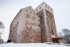 Turku Castle, Finland Stock Photo