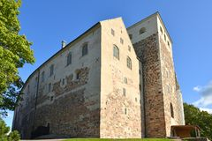 Turku Castle Turun linna is medieval building in city of Turku in Finland Royalty Free Stock Photography