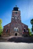 Turku Cathedral Royalty Free Stock Photos