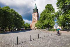 Turku Cathedral, Finland Royalty Free Stock Image
