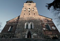Turku cathedral in Finland Stock Photography