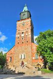 Turku Cathedral Royalty Free Stock Photography