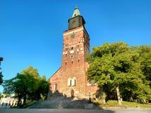 Turku Cathedral, Turku, Finland Stock Images