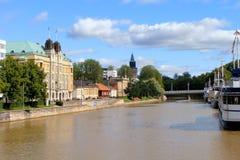 Turku, Finnland lizenzfreies stockbild