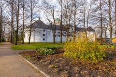 Turku kasztel Średniowieczny budynek w mieście Turku w Finlandia Obrazy Royalty Free