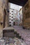 Turku kasztel Średniowieczny budynek w mieście Turku w Finlandia Obraz Royalty Free