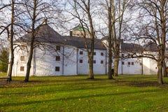 Turku kasztel Średniowieczny budynek w mieście Turku w Finlandia Zdjęcie Royalty Free