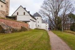 Turku kasztel Średniowieczny budynek w mieście Turku w Finlandia Zdjęcia Royalty Free