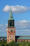 Turku-Kathedrale Stockbilder