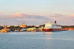 Turku sea-port Stock Photo