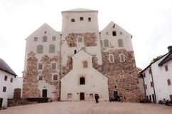Turku slott Arkivbild