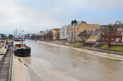 Turku in winter Royalty Free Stock Photo