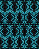 turkus błękitny bezszwowa tapeta Obrazy Royalty Free