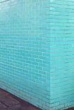 Turkus ściana Obrazy Royalty Free