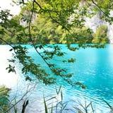turkus lake Obrazy Stock