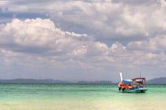 turkus łodzi Obrazy Royalty Free