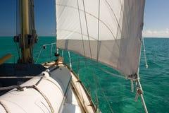turkus ' s sail. Obrazy Stock