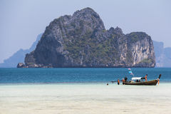 Turkus woda na wyspie, Tajlandia obraz royalty free