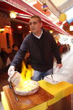 Turkish waiter Royalty Free Stock Photo